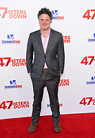 Johannes Roberts at the Los Angeles premiere for &quot;47 Meters Down&quot; at the Regency Village Theatre, Westwood. <br /> Los Angeles, USA 12 June  2017<br /> Picture: Paul Smith/Featureflash/SilverHub 0208 004 5359 sales@silverhubmedia.com