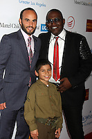 Landon Donovan, Jacob Angel, Randy Jackson<br />