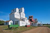 Heritage grain elevators<br /> Inglis<br /> Manitoba<br /> Canada