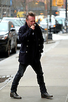 www.acepixs.com<br /> <br /> March 1 2017, New York City<br /> <br /> Musician John Mellencamp arrives at a downtown hotel on March  12017 in New York City<br /> <br /> By Line: Curtis Means/ACE Pictures<br /> <br /> <br /> ACE Pictures Inc<br /> Tel: 6467670430<br /> Email: info@acepixs.com<br /> www.acepixs.com