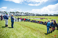 The first riders meeting: 2018 NZL-Puhinui International Horse Trials. Auckland. Thursday 6 December. Copyright Photo: Libby Law Photography