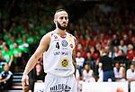 S&ouml;dert&auml;lje 2015-04-19 Basket SM-Final 1 S&ouml;dert&auml;lje Kings - Uppsala Basket :  <br /> Uppsalas Mannos Nakos under matchen mellan S&ouml;dert&auml;lje Kings och Uppsala Basket <br /> (Foto: Kenta J&ouml;nsson) Nyckelord:  S&ouml;dert&auml;lje Kings SBBK T&auml;ljehallen Basketligan SM SM-Final Final Uppsala Basket portr&auml;tt portrait