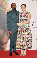 David Oyelowo, Jessica Oyelowo at the &quot;Queen of Katwe&quot; 60th BFI London Film Festival Virgin Atlantic gala screening, Odeon Leicester Square cinema, Leicester Square, London, England, UK, on Sunday 09 October 2016.<br /> CAP/CAN<br /> &copy;CAN/Capital Pictures /MediaPunch ***NORTH AND SOUTH AMERICAS ONLY***