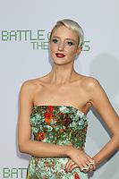 """LOS ANGELES - SEP 16:  Andrea Riseborough at the """"Battle of the Sexes"""" LA Premiere at the Village Theater on September 16, 2017 in Westwood, CA"""