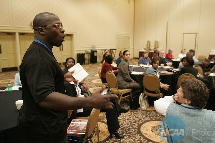 11 January 2008: The NCAA Symposium on Women of Color in College Athletics at the 2008 NCAA Convention at the Gaylord Opryland Resort Hotel and Convention Center in Nashville, TN.  Trevor Brown, Jr./NCAA Photos.