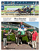 Miss Speaker winning at Delaware Park on 9/18/13 <br /> Gary Caupano's 1000th training victory!