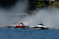 "Dylan Runne, H-12 ""Pleasure Seeker"", H-8 ""Last Minute Again"", Bobby King, H-242    (H350 Hydro) (5 Litre class hydroplane(s)"