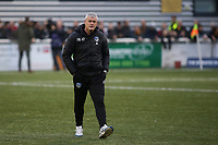 Oldham Athletic Manager, Frankie Bunn during Maidstone United vs Oldham Athletic, Emirates FA Cup Football at the Gallagher Stadium on 1st December 2018