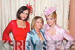 Maura O'Connor of Brides Boutique Glin centre with modals Olivia Stapelton and Anna Saluda (Celia Holman Lee Modelling Agency Limerick) Pose for a picture at the Fashion Show in Kirby's Lanterns Hotel Tarbert on Wednesday night.   Copyright Kerry's Eye 2008