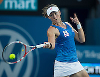 SAMANTHA STOSUR..Tennis - Apia Sydney International -  Sydney 2013 -  Olympic Park - Sydney - NSW - Australia.Monday 7th January  2013. .© AMN Images, 30, Cleveland Street, London, W1T 4JD.Tel - +44 20 7907 6387.mfrey@advantagemedianet.com.www.amnimages.photoshelter.com.www.advantagemedianet.com.www.tennishead.net