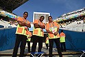 Stewards,<br /> JUNE 26, 2014 - Football / Soccer :<br /> FIFA World Cup Brazil 2014 Group H match between South Korea 0-1 Belgium at Arena de Sao Paulo in Sao Paulo, Brazil. (Photo by SONG Seak-In/AFLO)