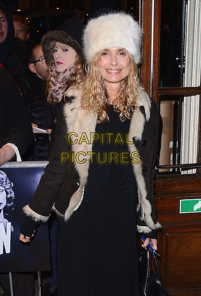 LONDON, ENGLAND - NOVEMBER 19 Maryam D'Abo at the 'Strangers on a Train' Press Night at the Gielgud Theatre, Shaftesbury Avenue on November 19, 2013 in London, England<br /> CAP/PP/MB<br /> &copy;Michael Ball/PP/Capital Pictures