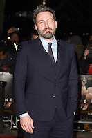 Ben Affleck<br /> at the &quot;Live by Night&quot; premiere at BFI South Bank, London.<br /> <br /> <br /> &copy;Ash Knotek  D3217  11/01/2017