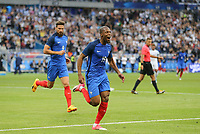 Djibril Sidibe (Monaco) of France celebrates scoring his goal 2 1  during the International Friendly match between France and England at Stade de France, Paris, France on 13 June 2017. Photo by David Horn/PRiME Media Images.