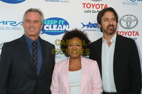 HOLLYWOOD, CA - APRIL 21: Robert Kennedy Jr., Wanda Sykes, Ray Romano at the Keep It Clean Comedy Benefit For Waterkeeper Alliance at Avalon on April 21, 2016 in Hollywood, California. <br /> CAP/MPI/DE<br /> &copy;DE/MPI/Capital Pictures