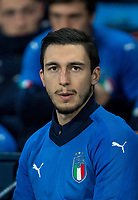 Matteo Darmian (Manchester United) of Italy pre match during the International Friendly match between Argentina and Italy at the Etihad Stadium, Manchester, England on 23 March 2018. Photo by Andy Rowland.