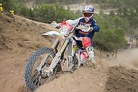 American's  Michael Layne during the second day World trophy class of the FIM international six days of enduro 2016 in Navarra, Spain. October 11, 2016. (ALTERPHOTOS/Rodrigo Jimenez) NORTEPHOTO.COM