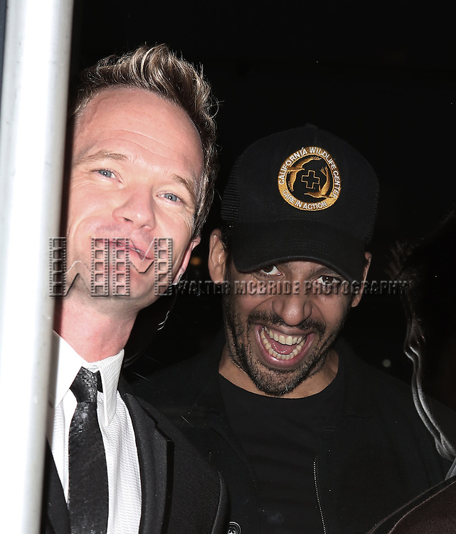 Neil Patrick Harris and David Blaine attend the Opening Night Party for 'Nothing To Hide' at the Yotel New York on November 6, 2013  in New York City.