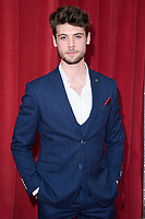 Ned Porteous<br /> arriving for the British Soap Awards 2018 at the Hackney Empire, London<br /> <br /> ©Ash Knotek  D3405  02/06/2018