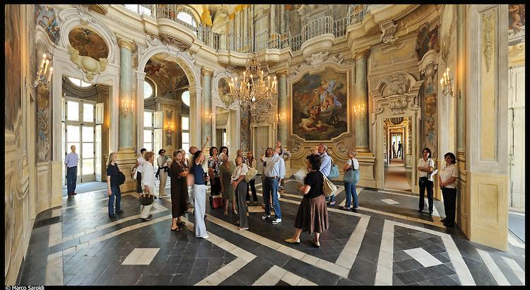 Villa della Regina. Immagine appartenente al progetto fotografico Vita da Museo di Marco Saroldi.
