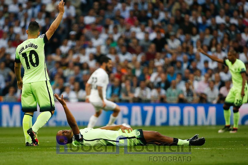 Manchester City´s defense Vincent Kompany