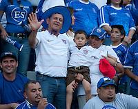 US Fans during FIFA World Cup qualifier against El Salvador. USA tied El Salvador 2-2 at Estadio Cuscatlán Stadium in El Salvador on March 28, 2009.