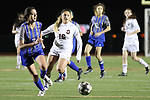 Brewer beats Saginaw 5-2 in 6-5A girls' high school soccer on Tuesday, January 30, 2108. (photo by Khampha Bouaphanh)