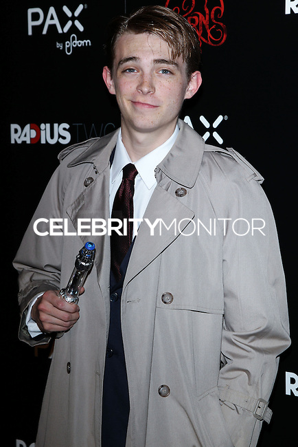 HOLLYWOOD, LOS ANGELES, CA, USA - OCTOBER 30: Dylan Riley Snyder arrives at the Los Angeles Premiere Of RADiUS-TWC's 'Horns' held at ArcLight Hollywood on October 30, 2014 in Hollywood, Los Angeles, California, United States. (Photo by Celebrity Monitor)