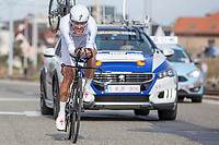GC winner Philippe Gilbert (BEL/Quick Step Floors) during the ITT<br /> <br /> 3 Days of De Panne 2017<br /> afternoon stage 3b: ITT De Panne-De Panne (14,2km)