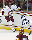 Danielle Welch (BC - 17) - The University of Minnesota-Duluth Bulldogs defeated the Boston College Eagles 3-0 on Friday, November 27, 2009, at Conte Forum in Chestnut Hill, Massachusetts.