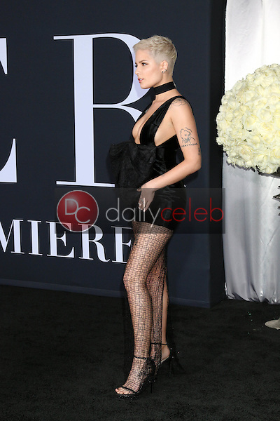 """Halsey, Ashley Nicolette Frangipane<br /> at the """"Fifty Shades Darker"""" World Premiere, The Theater at Ace Hotel, Los Angeles, CA 02-02-17<br /> David Edwards/DailyCeleb.com 818-249-4998"""