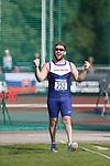 IPC European Athletics Championship 2014<br /> Dan Greaves (GBR)<br /> Mens Discus F44<br /> Swansea University<br /> <br /> 21.08.14<br /> ©Steve Pope-SPORTINGWALES