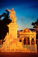 Statue of José Martí at Plaza de Armas, Cienfuegos, Cuba