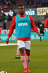 08.02.2019, RheinEnergieStadion, Koeln, GER, 2. FBL, 1.FC Koeln vs. FC St. Pauli,<br />  <br /> DFL regulations prohibit any use of photographs as image sequences and/or quasi-video<br /> <br /> im Bild / picture shows: <br /> Jhon Córdoba (FC Koeln #15),   beim Aufwaermen, Einzelaktion,  <br /> <br /> Foto © nordphoto / Meuter