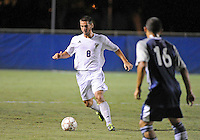 Florida International University men's soccer player Nicholas Chase (8) plays against Nova University on August 26, 2011 at Miami, Florida. FIU won the game 2-0. .