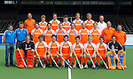 2010 Oranje Heren portr.+team