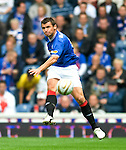 Lee McCulloch fires in the opening goal of the match