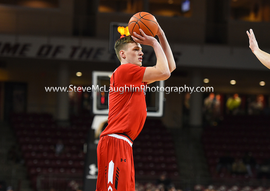 Jason Dunne's three-pointer with 2.3 seconds remaining lifted the Hartford men's basketball team to a 65-63 win over Boston College on Friday night. Dunne finished with a career-high 25 points in addition to leading the team with seven rebounds in the victory. It marked Hartford's first-ever victory over an Atlantic Coast Conference fo