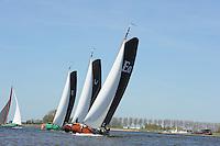SKÛTSJESILEN: LEMMER: 05-05-2016, Lemmer Ahoy, ©foto Martin de Jong