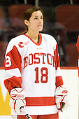 Jillian Kirchner (BU - 18) - The Boston University Terriers defeated the Providence College Friars 5-3 on Saturday, November 14, 2009, at Agganis Arena in Boston, Massachusetts.