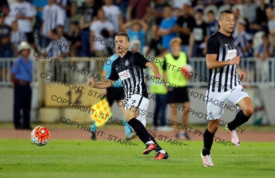 Nemanja Mihajlovic UEFA Europa League kvalifikacije Partizan - Zaglebie 14.7.2016.  (credit image & photo: Pedja Milosavljevic / STARSPORT)