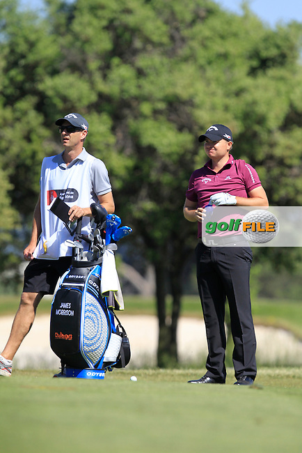 James Morrison (ENG) on the 17th fairway during Round 4 of the Open de Espana  in Club de Golf el Prat, Barcelona on Sunday 17th May 2015.<br /> Picture:  Thos Caffrey / www.golffile.ie