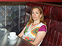 Tracy Chevalier writer at The Century Club in London  . CREDIT Geraint Lewis