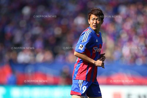 Kazuma Watanabe (FC Tokyo), MARCH 9, 2013 - Football / Soccer : 2013 J.LEAGUE Division 1 match between FC Tokyo 3-0 Kashiwa Reysol at Ajinomoto Stadium, Tokyo, Japan. (Photo by AFLO SPORT) [1156].