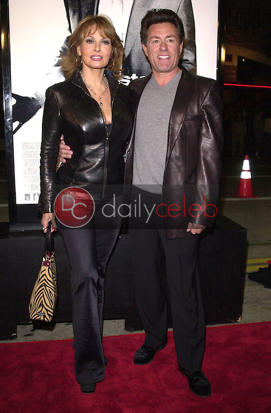 Racquel Welch and hubby Richard Palmer