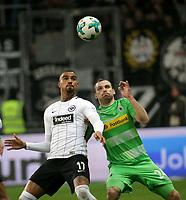26.01.2018, Commerzbank - Arena, Frankfurt, GER, 1.FBL, Eintracht Frankfurt vs Borussia Moenchengladbach , <br />Kevin-Prince Boateng (Frankfurt), Tony Jantschke (Moenchengladbach) *** Local Caption *** © pixathlon<br /> Contact: +49-40-22 63 02 60 , info@pixathlon.de