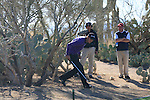 Martin Kaymer (GER) in trouble on the 15th hole during Day 2 of the Accenture Match Play Championship from The Ritz-Carlton Golf Club, Dove Mountain, Thursday 24th February 2011. (Photo Eoin Clarke/golffile.ie)
