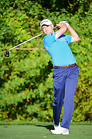 Russell Knox (IRL) watches his tee shot on 3 during round 1 of the Honda Classic, PGA National, Palm Beach Gardens, West Palm Beach, Florida, USA. 2/23/2017.<br /> Picture: Golffile | Ken Murray<br /> <br /> <br /> All photo usage must carry mandatory copyright credit (&copy; Golffile | Ken Murray)