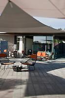 Europe/France/Provence-Alpes-Cote d'Azur/Alpes-Maritimes/Antibes/Juan-les-Pins: Terrasse du Restaurant: Les Pêcheurs au Cap d'Antibes Beach Hôtel