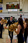 18 December 2018: The University of Vermont Catamounts leave the court after a double-overtime win against the St. Bonaventure University Bonnies at Patrick Gymnasium in Burlington, Vermont. The Catamounts defeated the Bonnies 83-76 in the NCAA DI game. Mandatory Credit: Ed Wolfstein Photo *** RAW (NEF) Image File Available ***